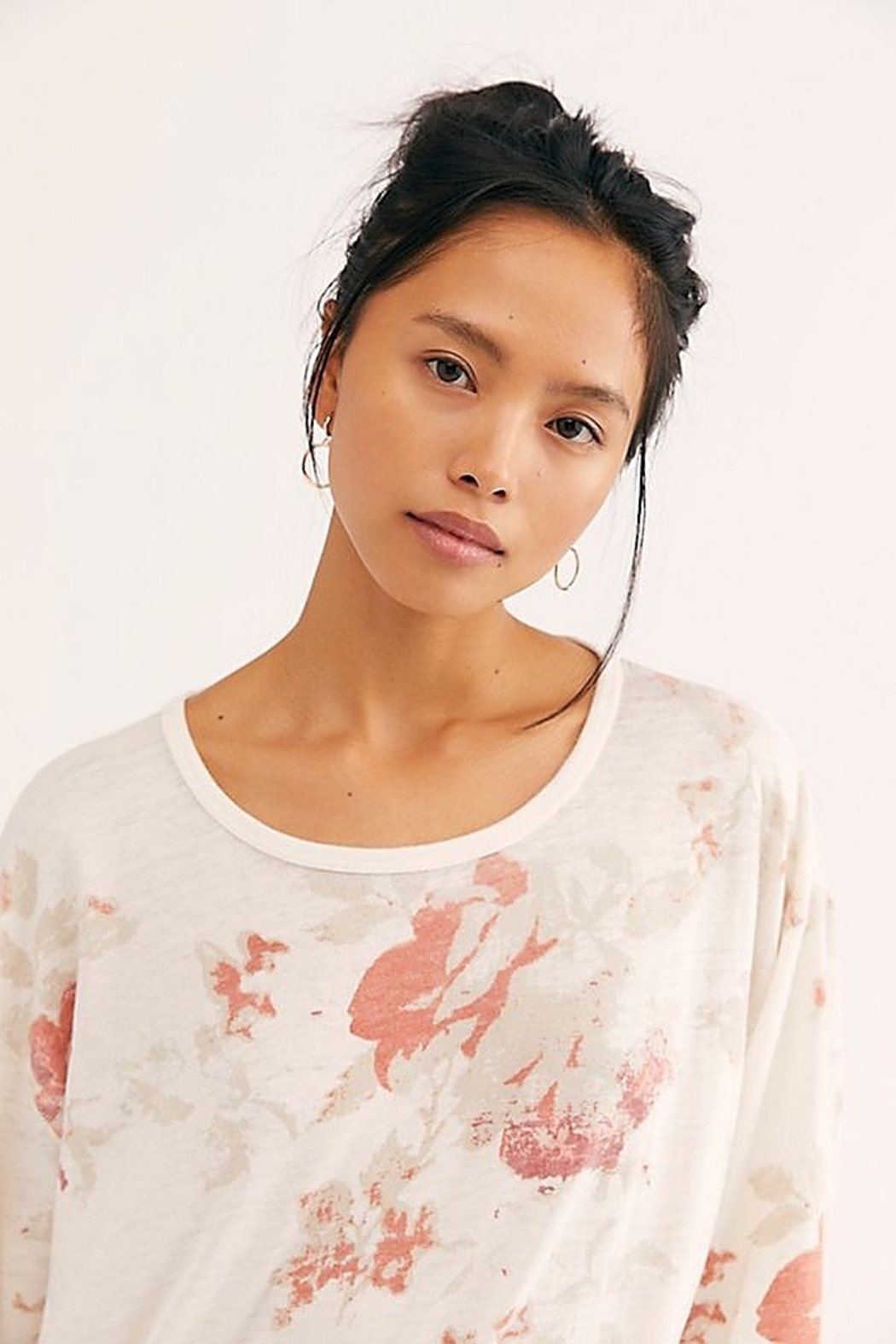 Free People We the Free Arielle Printed Long Sleeve Combo - Side Cropped Image