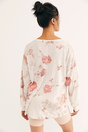Free People We the Free Arielle Printed Long Sleeve Combo - Front full body