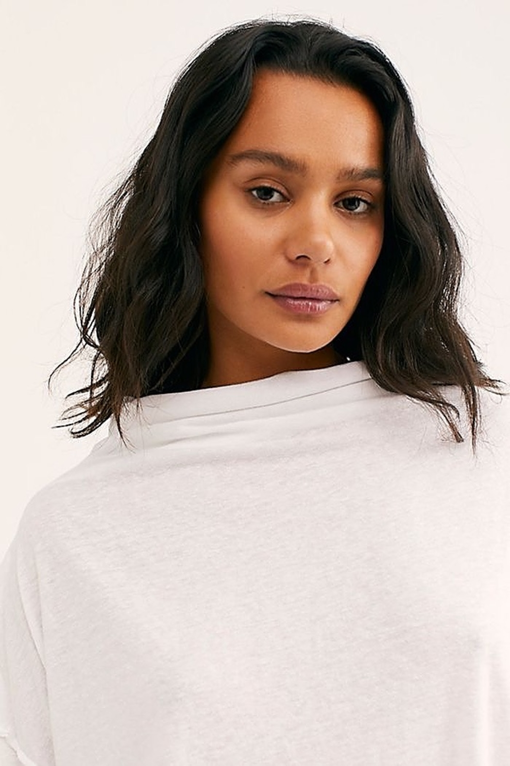 Free People We the Free Bella Vista Thermal White - Front Full Image