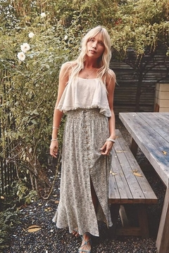 Shoptiques Product: We've Got to Grow Maxi Skirt