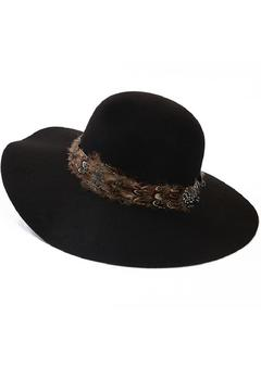 Shoptiques Product: Floppy Hat Black