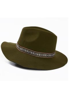 Shoptiques Product: Hat Hunter Green