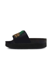 Wear for Love High Slides Pineapple Sandal - Front cropped