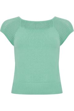 Wears London - Collectif Claire Knitted Top - Alternate List Image