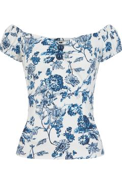 Wears London - Collectif Dolores Floral Top - Product List Image