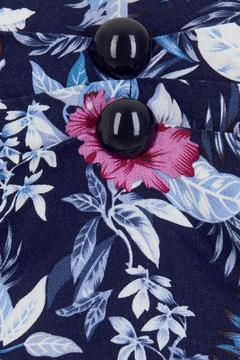 Wears London - Collectif Dolores Hibiscus Top - Alternate List Image