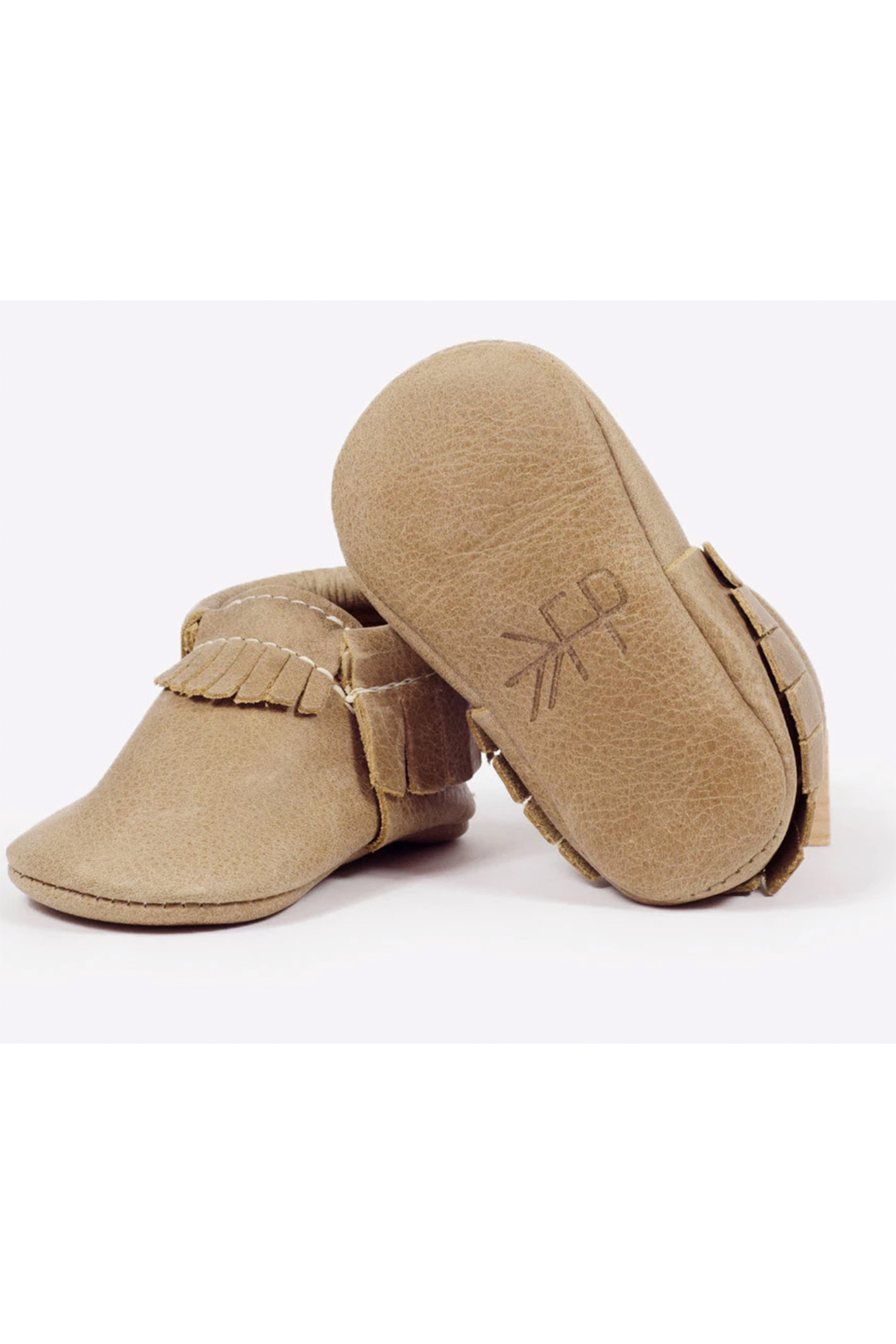 Freshly Picked Weathered Brown Moccasins - Back Cropped Image