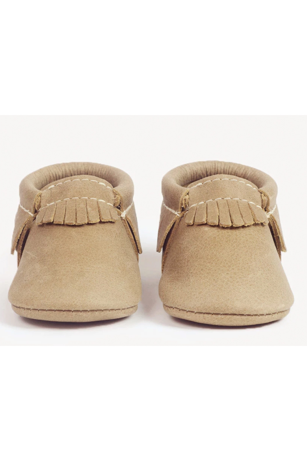 Freshly Picked Weathered Brown Moccasins - Front Full Image
