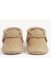 Freshly Picked Weathered Brown Moccasins - Front full body