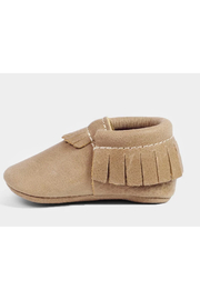 Freshly Picked Weathered Brown Moccasins - Front cropped