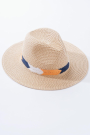 Trend Notes  Weaved Boho Hat - Product Mini Image