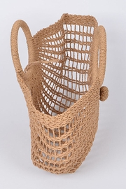 H & D Weaved Tote - Front full body
