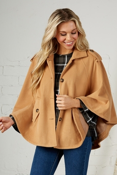 Mud Pie Webster Cape - Product List Image