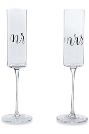 Mud Pie  Wedding Champagne Set - Product Mini Image