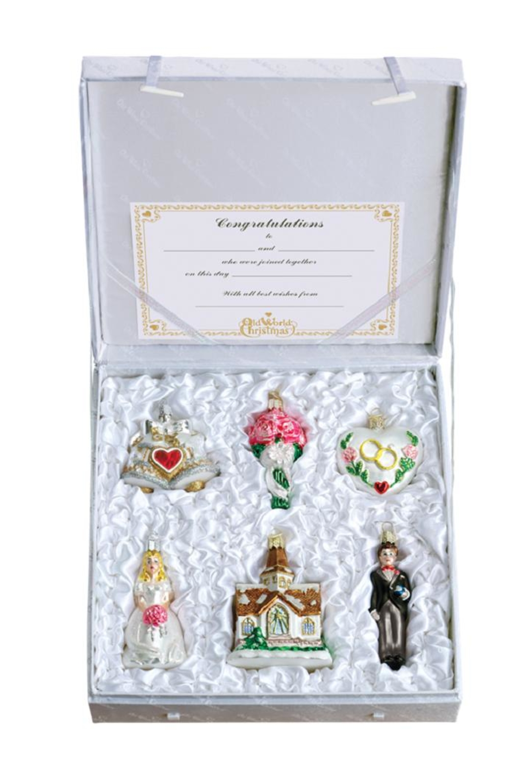 Old World Christmas Wedding Collection - Main Image