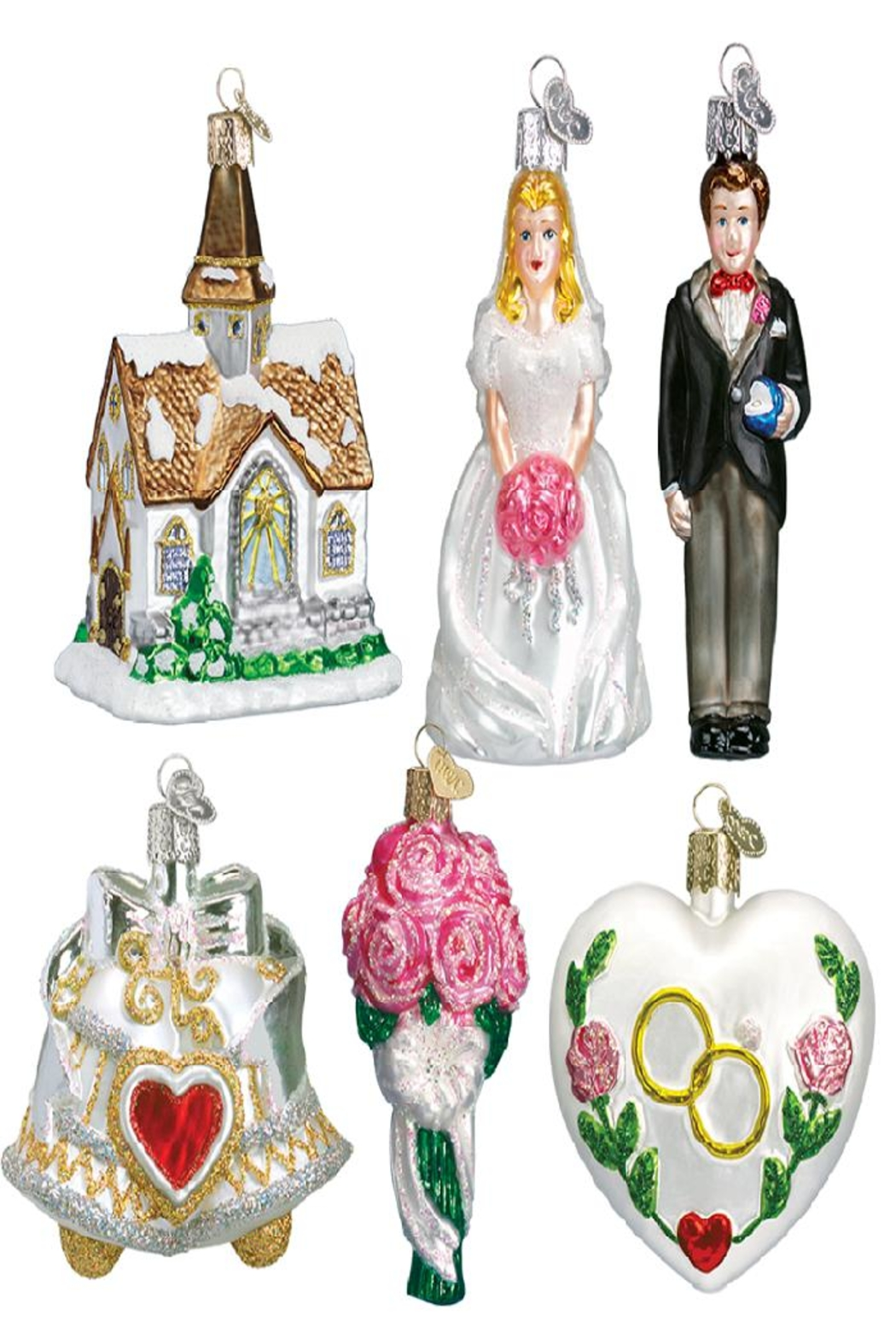 Old World Christmas Wedding Collection - Front Full Image
