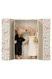 Maileg Wedding Mice Couple in Box - Product Mini Image