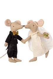 Maileg Wedding Mice Couple - Front full body