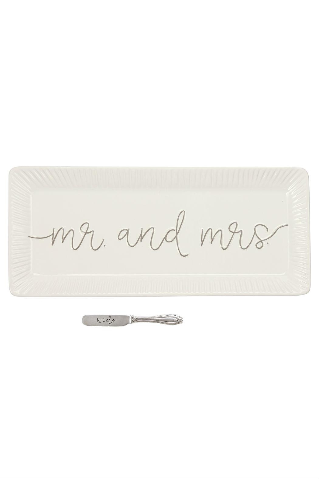 Mud Pie Wedding Tray - Main Image