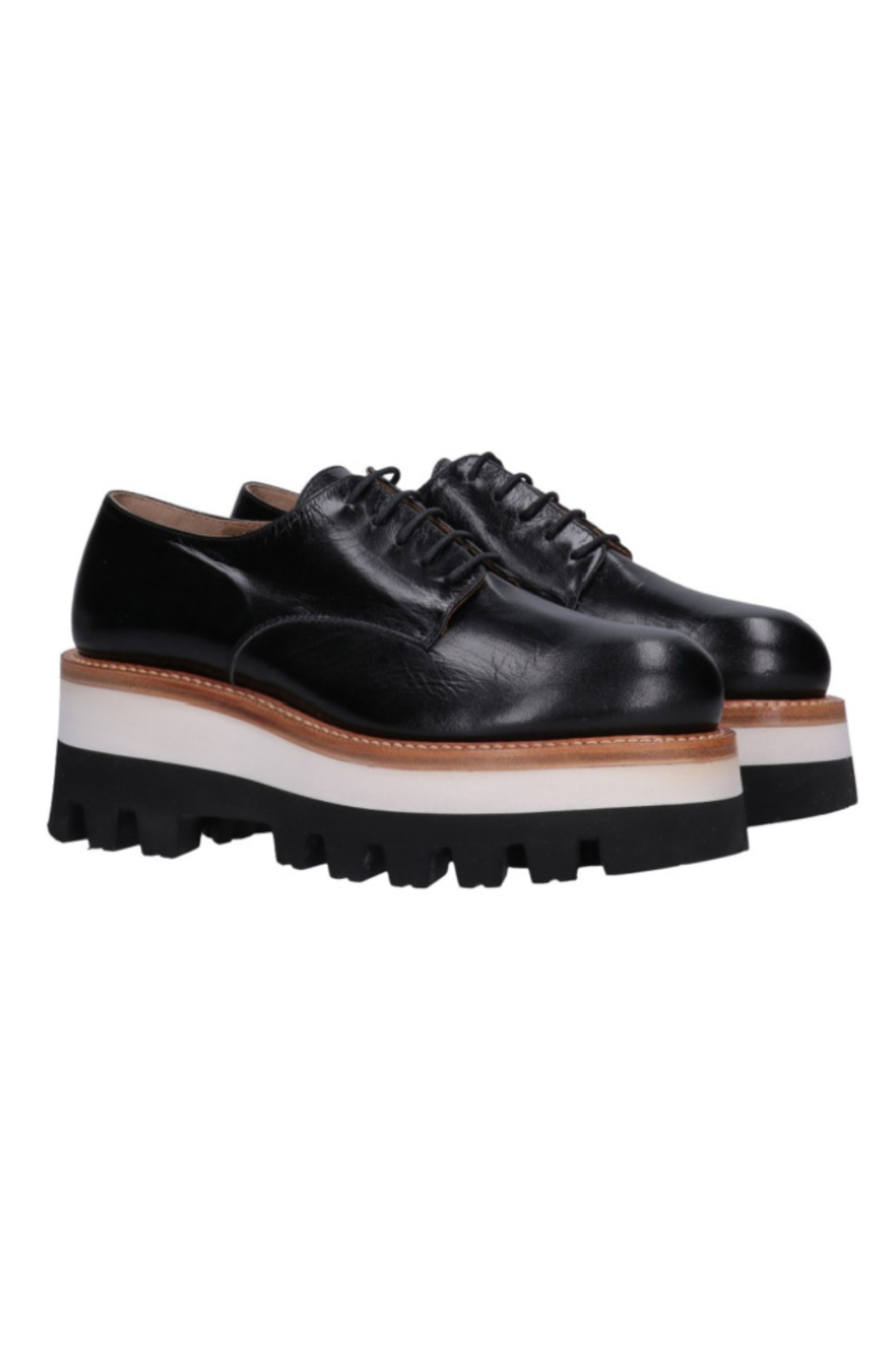 Cappelletti Wedge Derby Shoe - Front Cropped Image