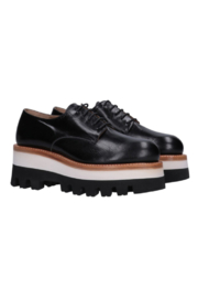 Cappelletti Wedge Derby Shoe - Front cropped