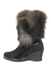 Pajar Wedge Fur Boot - Product Mini Image