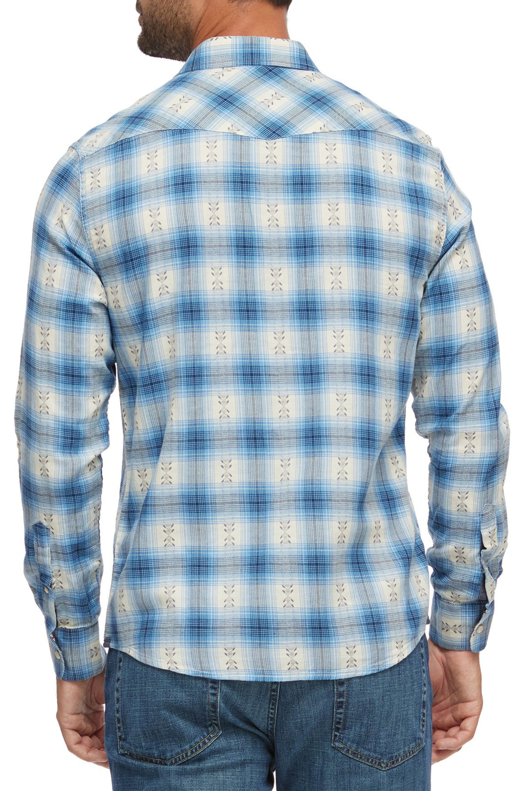 Flag & Anthem Wedgefield Western Shirt - Front Full Image