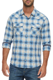 Flag & Anthem Wedgefield Western Shirt - Front cropped
