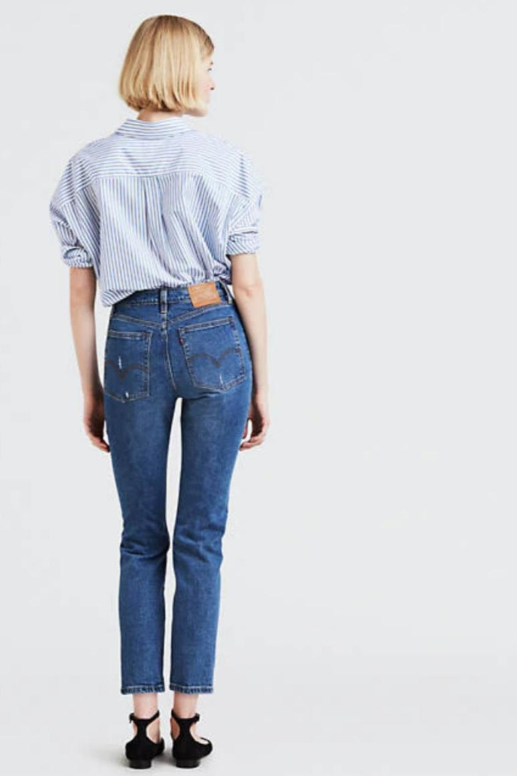 Levi's Wedgie- High Rise - Front Full Image