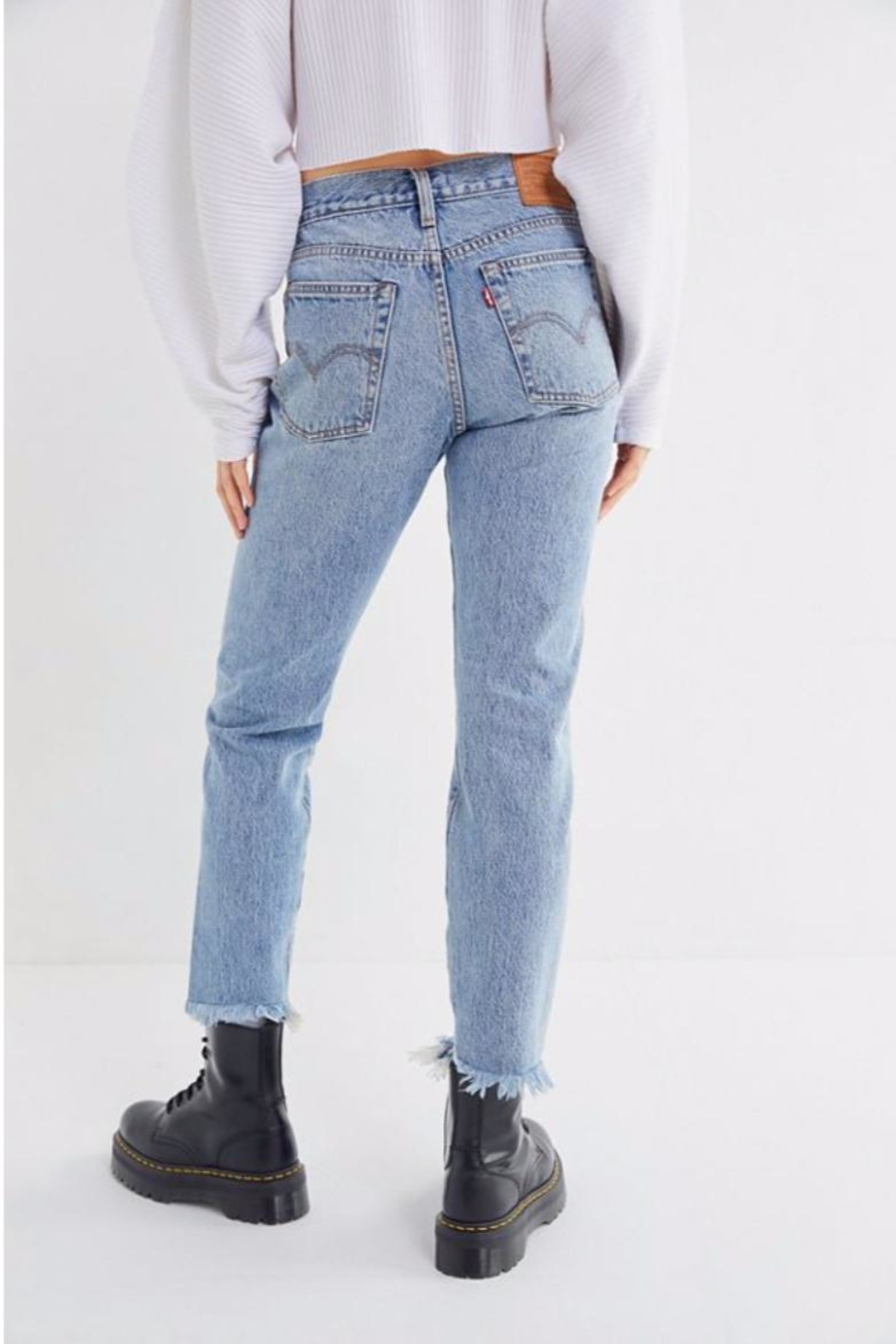Levi's Wedgie High-Rise - Front Full Image