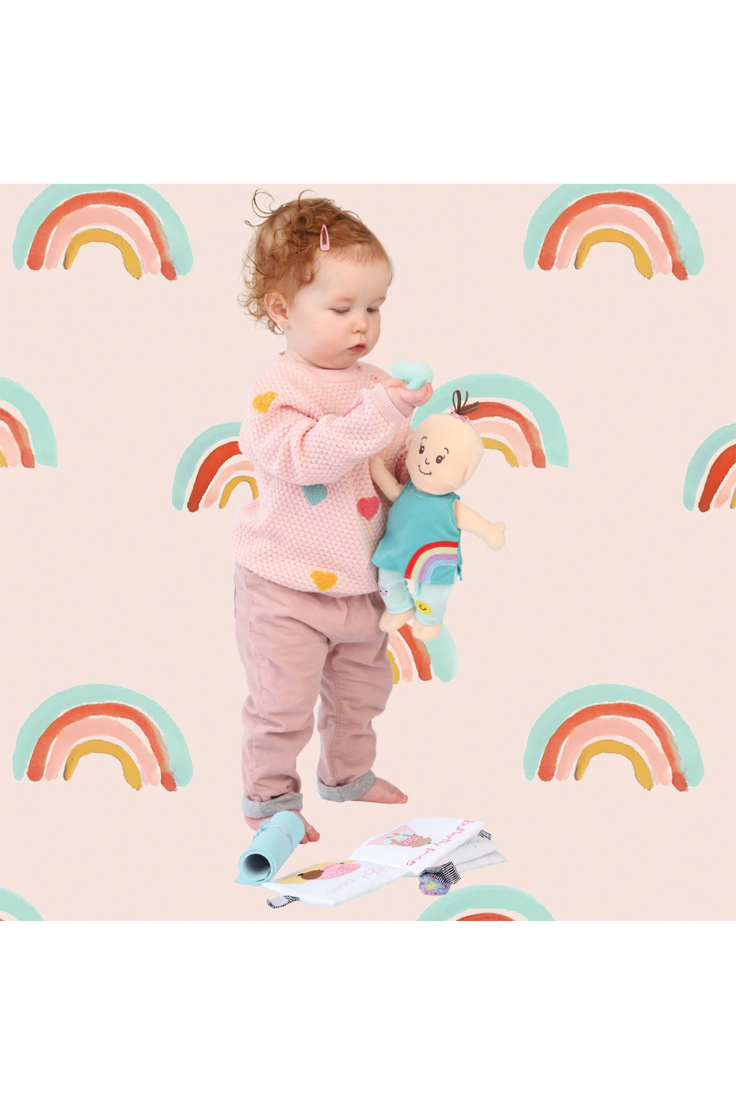Manhattan Toy Company Wee Baby Stella Yoga Set - Side Cropped Image