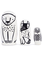 Wee Gallery Wooden Nesting Dolls - Product Mini Image