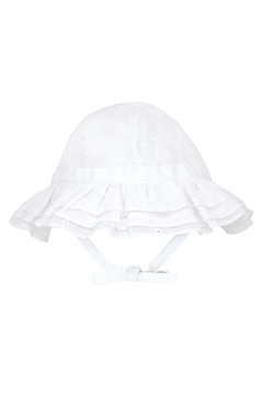 Wee Ones Eyelet Ruffle Sun Hat - Alternate List Image