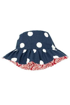 Wee Ones Reversible Polka Dot Hat - Alternate List Image