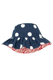 Wee Ones Reversible Polka Dot Hat - Product Mini Image