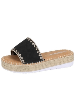 Shoptiques Product: Olivia Raffia Slide