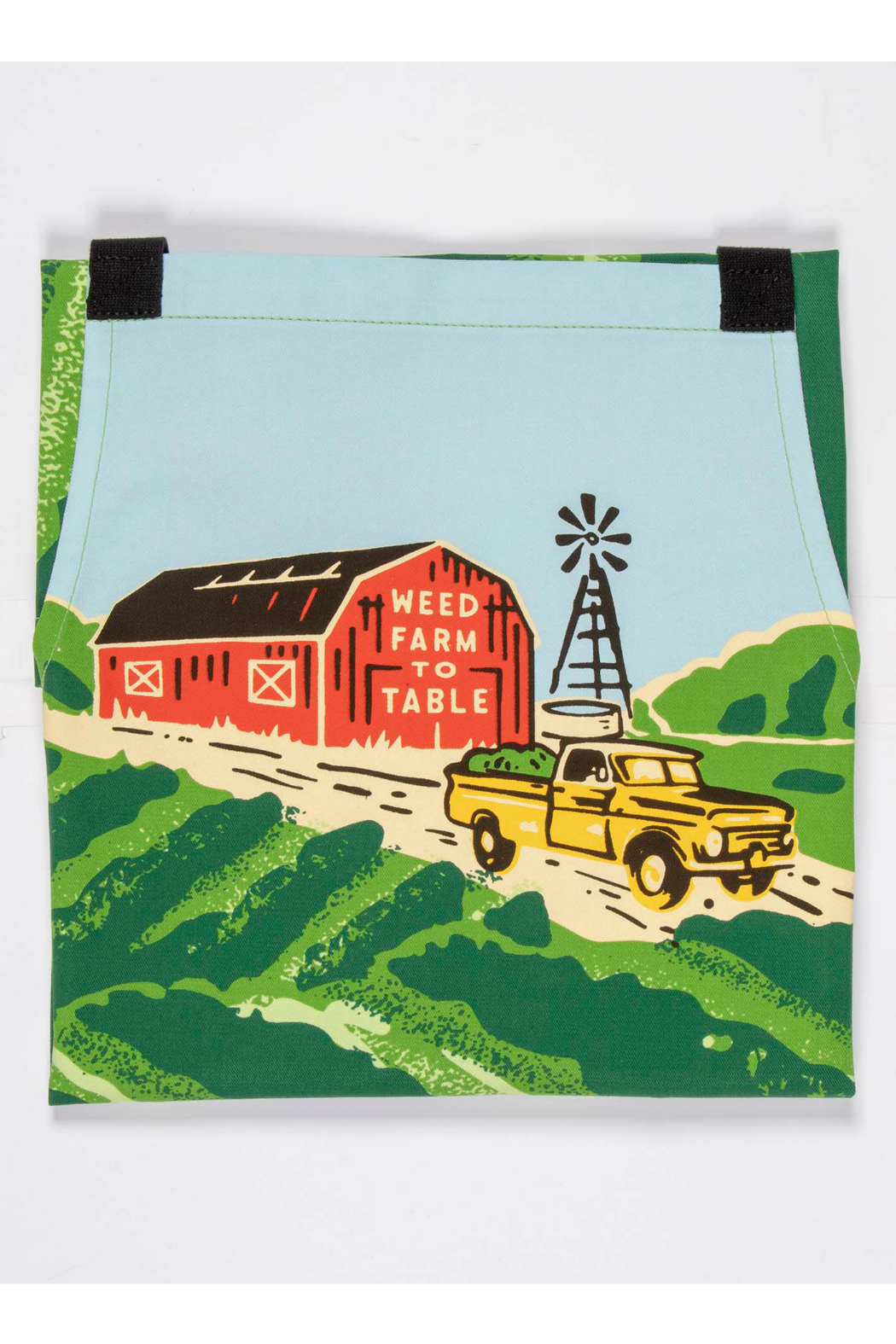 Blue Q Weed To Farm To Table Apron - Front Full Image