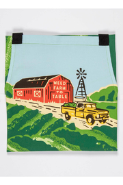 Blue Q Weed to farm to table apron - Front full body