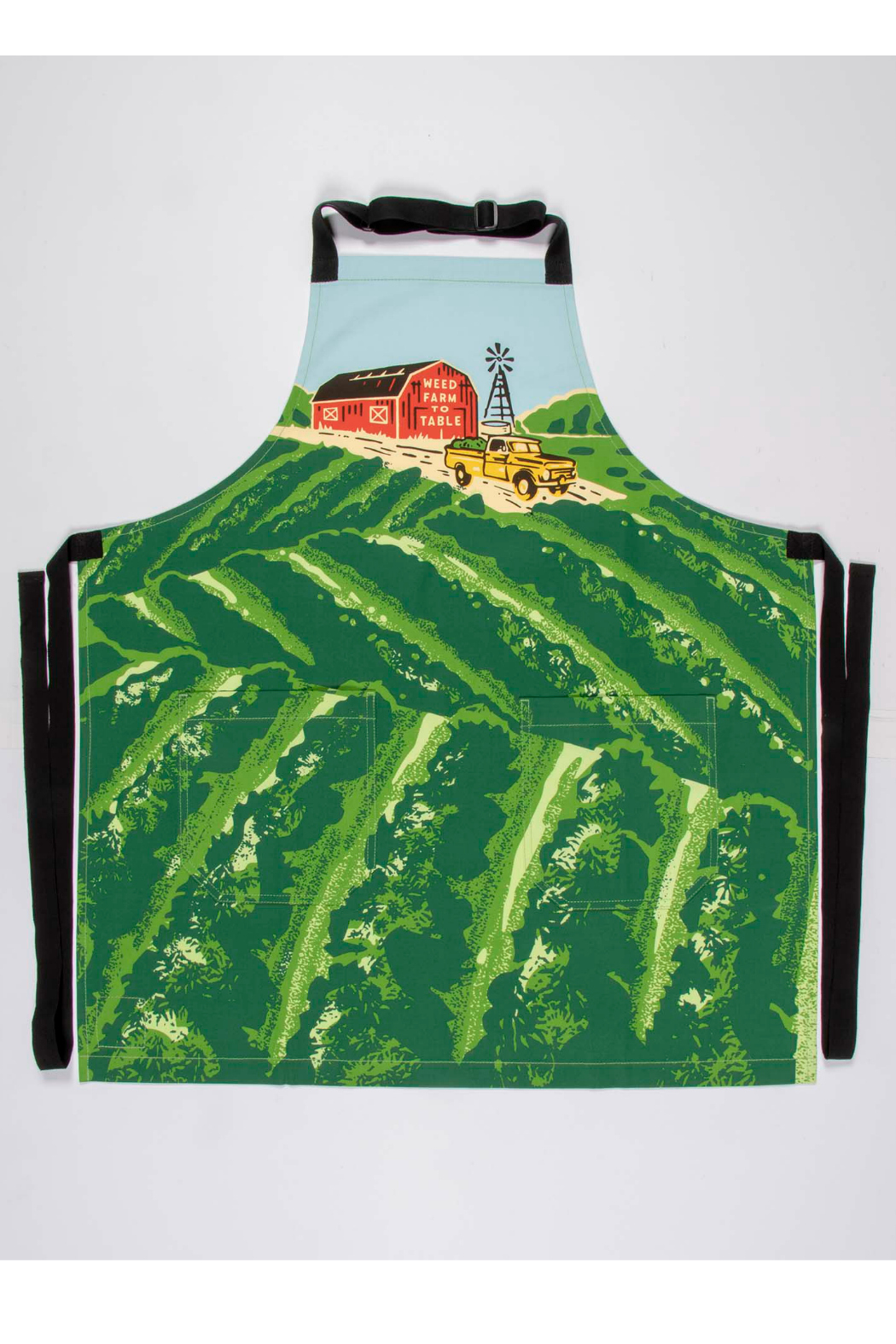 Blue Q Weed to farm to table apron - Main Image