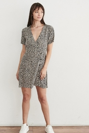 WEEK& Clothing Los Angwle Leopard Skater Dress - Side cropped