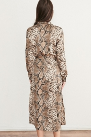 WEEK& Clothing Los Angwle Python Print Dress - Product Mini Image
