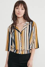 WEEK& Clothing Los Angwle Striped Top - Product Mini Image