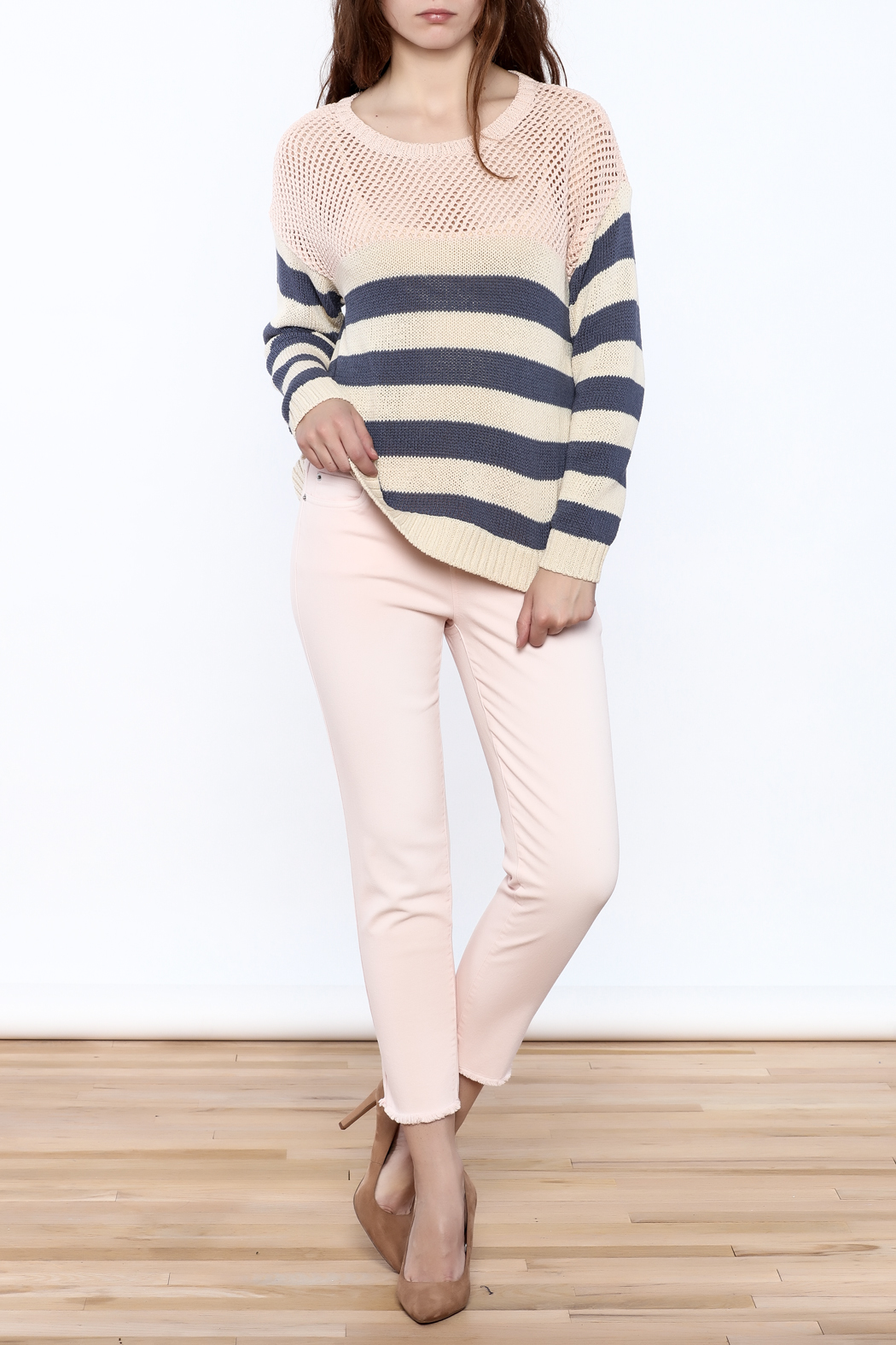 Weekend by Aldo Martins Summer Nautical Sweater - Front Full Image