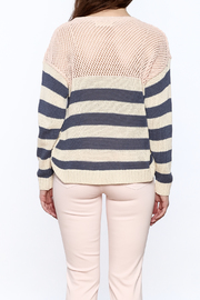 Weekend by Aldo Martins Summer Nautical Sweater - Back cropped