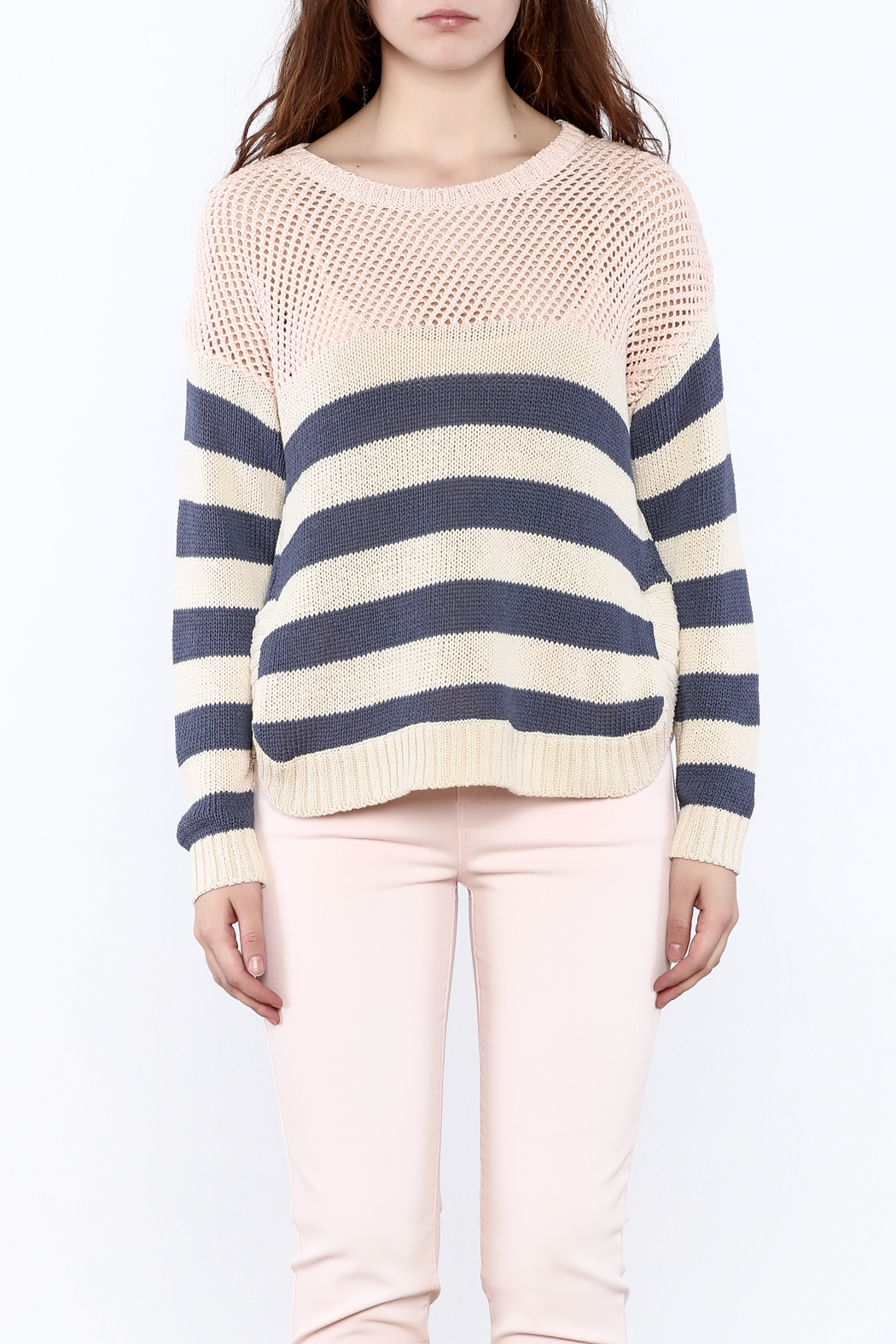 Weekend by Aldo Martins Summer Nautical Sweater - Side Cropped Image