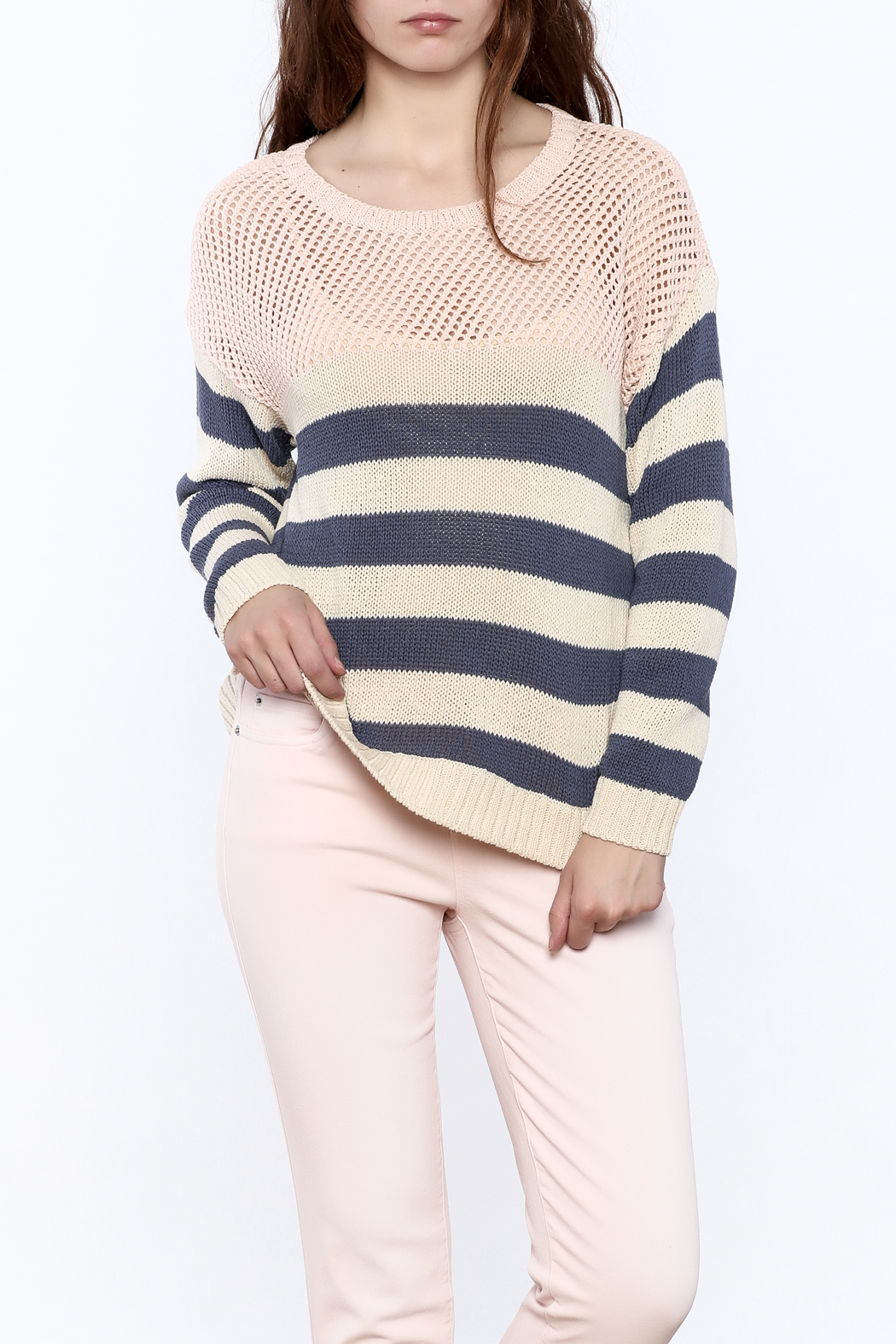 Weekend by Aldo Martins Summer Nautical Sweater - Front Cropped Image