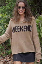 Wooden Ships Weekend Slouchy Pullover - Product Mini Image