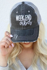 Imagine That Weekend Vibes Hat - Product Mini Image