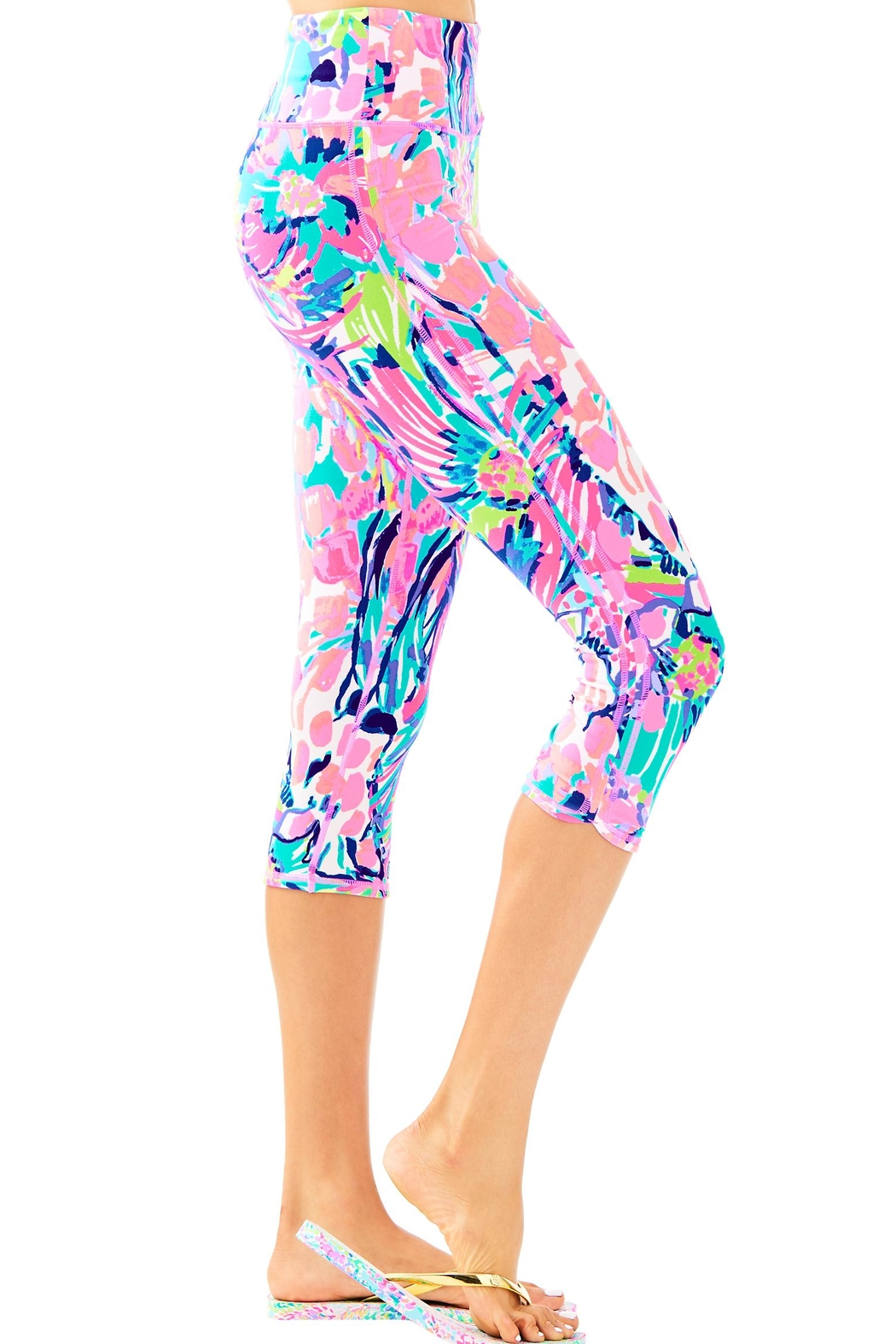 Lilly Pulitzer Weekender Cropped Pant - Side Cropped Image