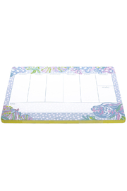 Lilly Pulitzer  Weekly Desk Pad - Front cropped